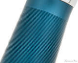 TWSBI 580ALR Fountain Pen - Prussian Blue - Pattern