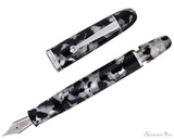 Penlux Masterpiece Grande Fountain Pen - Black & White Koi - Filling System