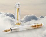 Penlux Masterpiece Grande Fountain Pen - Cloudy Bay - Beauty