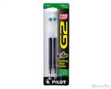 Pilot G2 Rollerball Refill - Green, Fine (2 Pack)