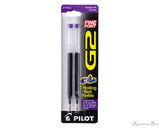 Pilot G2 Rollerball Refill - Purple, Fine (2 Pack)