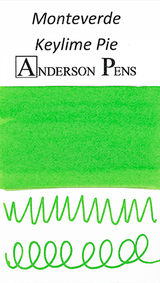 Monteverde Key Lime Pie Ink Sample