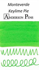 Monteverde Key Lime Pie Ink Sample