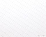 ProFolio Oasis Light Notebook - B5, Blueberry - Ruling