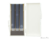 Sailor Shikiori Tokiwa-Matsu Ink Cartridges (3 Pack) - Cartridge Case Open