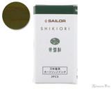 Sailor Shikiori Tokiwa-Matsu Ink Cartridges (3 Pack)