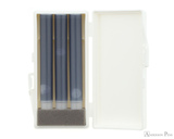 Sailor Shikiori Nioi-Sumire Ink Cartridges (3 Pack) - Cartridge Case Open