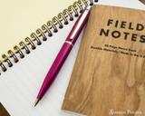 Sheaffer VFM Ballpoint - Pink Sapphire - On Notebook