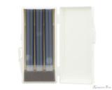 Sailor Shikiori Rikyu-Cha Ink Cartridges (3 Pack) - Cartridge Case Open