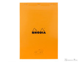 Rhodia No. 19 Staplebound Meeting Pad - A4+, Lined - Orange