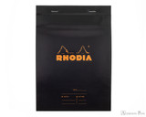 Rhodia No. 16 Staplebound Meeting Pad - A5, Lined Black