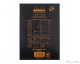 Rhodia No. 16 Staplebound Meeting Pad - A5, Lined Black - Back