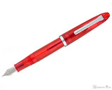 Sailor Compass 1911 Fountain Pen - Red Transparent - Posted