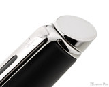 Waterman Hemisphere Fountain Pen - Matte Black with Chrome Trim - Jewel