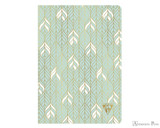 Clairefontaine Neo Deco Notebook - A5, Lined - Sea Green