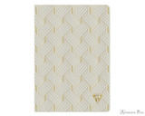 Clairefontaine Neo Deco Notebook - A5, Lined - Pearl Grey