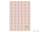 Clairefontaine Neo Deco Notebook - A5, Lined - Powder Pink