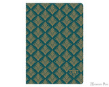 Clairefontaine Neo Deco Notebook - A5, Lined - Vegetal