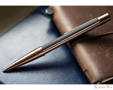 S.T. Dupont Defi Vintage Ballpoint - Black with Copper - Beauty 1