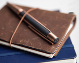 S.T. Dupont Defi Vintage Ballpoint - Black with Copper - Beauty 2