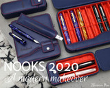 Esterbrook Triple Pen Nook - Navy - Beauty