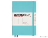 Leuchtturm1917 Notebook - A5, Blank - Aquamarine