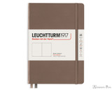 Leuchtturm1917 Notebook - A5, Blank - Warm Earth