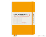Leuchtturm1917 Notebook - A5, Dot Grid - Rising Sun
