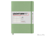 Leuchtturm1917 Softcover Notebook - A5, Lined - Sage