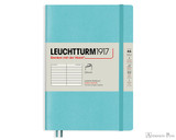 Leuchtturm1917 Softcover Notebook - A5, Lined - Aquamarine