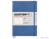 Leuchtturm1917 Softcover Notebook - A5, Dot Grid - Denim