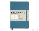 Leuchtturm1917 Softcover Notebook - A5, Dot Grid - Stone Blue