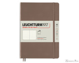Leuchtturm1917 Softcover Notebook - A5, Dot Grid - Warm Earth