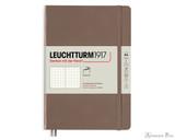 Leuchtturm1917 Softcover Notebook - A5, Dot Grid - Warm Earth