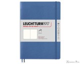 Leuchtturm1917 Softcover Notebook - A5, Blank - Denim