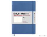 Leuchtturm1917 Softcover Notebook - A5, Blank - Denim