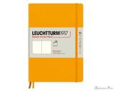 Leuchtturm1917 Softcover Notebook - A5, Blank - Rising Sun