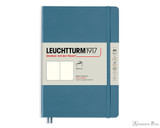 Leuchtturm1917 Softcover Notebook - A5, Blank - Stone Blue
