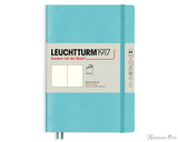 Leuchtturm1917 Softcover Notebook - A5, Blank - Aquamarine