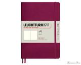 Leuchtturm1917 Softcover Notebook - A5, Blank - Port Red
