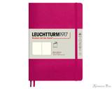 Leuchtturm1917 Softcover Notebook - A5, Blank - Berry