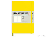Leuchtturm1917 Softcover Notebook - A5, Blank - Lemon