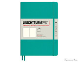 Leuchtturm1917 Softcover Notebook - A5, Blank - Emerald