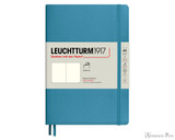 Leuchtturm1917 Softcover Notebook - A5, Blank - Nordic Blue