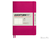 Leuchtturm1917 Softcover Notebook - A5, Dot Grid - Berry