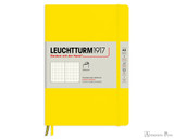Leuchtturm1917 Softcover Notebook - A5, Dot Grid - Lemon