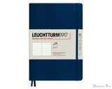 Leuchtturm1917 Softcover Notebook - A5, Dot Grid - Navy