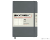 Leuchtturm1917 Softcover Notebook - A5, Dot Grid - Anthracite