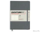Leuchtturm1917 Softcover Notebook - A5, Dot Grid - Anthracite
