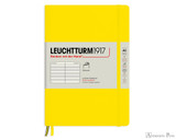 Leuchtturm1917 Softcover Notebook - A5, Lined - Lemon